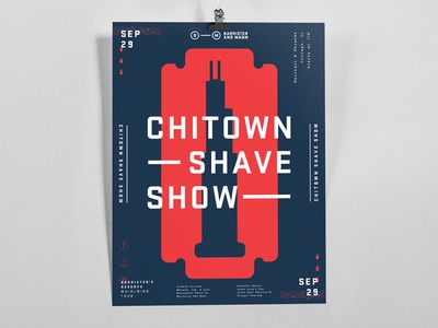 Chinatown Shave Show | Poster