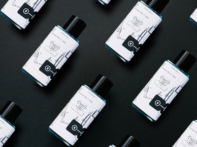 Aftershave packaging