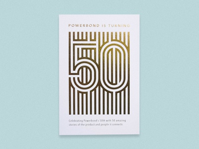 Fifty card