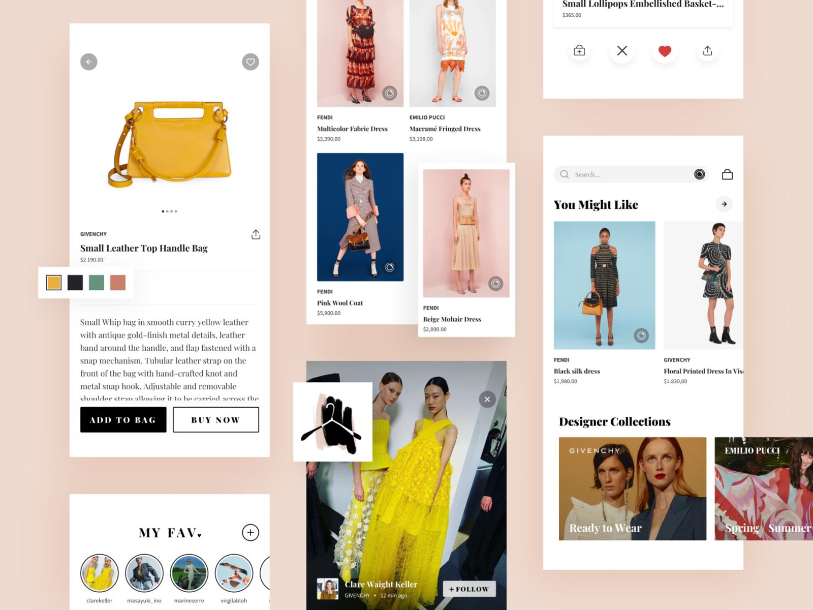 Ai Fashion App By Anna Hnap For Habitat On Dribbble