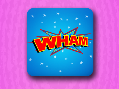 Whambar icon sweets candy wham pink ios