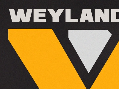 Wayland-Yutani Corp logos logo alien wayland font