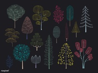 Trees Doodle
