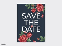 Save the Date : Classic roses