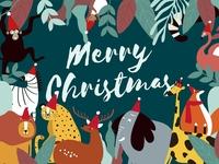 Merry Jungle Christmas :)