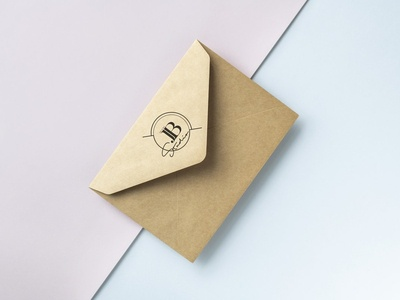 Free Stationery Mockups :) mockup design brand identity branding envelope stationery mockup mock up
