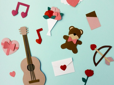 Paper Lover character charactedesign love design paper art papercraft paper craft paper