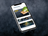Food Recipe Cooking Concept minimal app ui recipe app unsplash review eat drink mockup iphone mobile ios instruction food and drink cook cooking recipe food