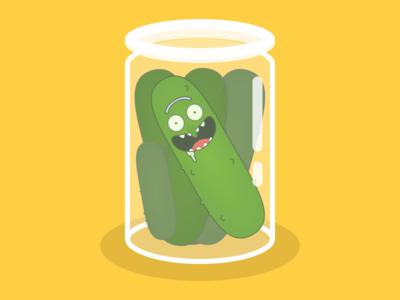 It's Pickle Rick!