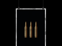 Three Bullets Poster