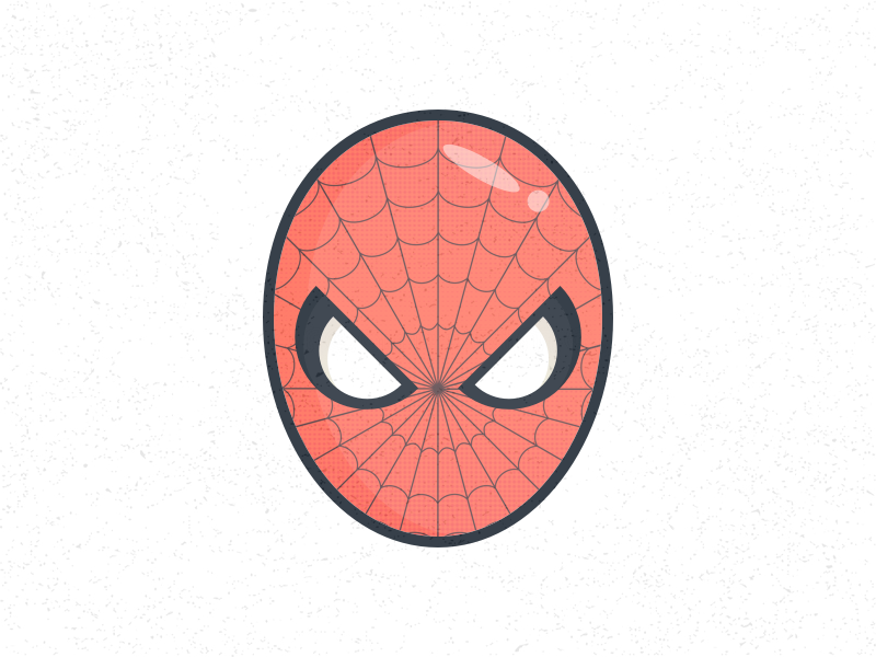 Spiderman Illustration super hero comic web spiderman parker peter illustration homecoming