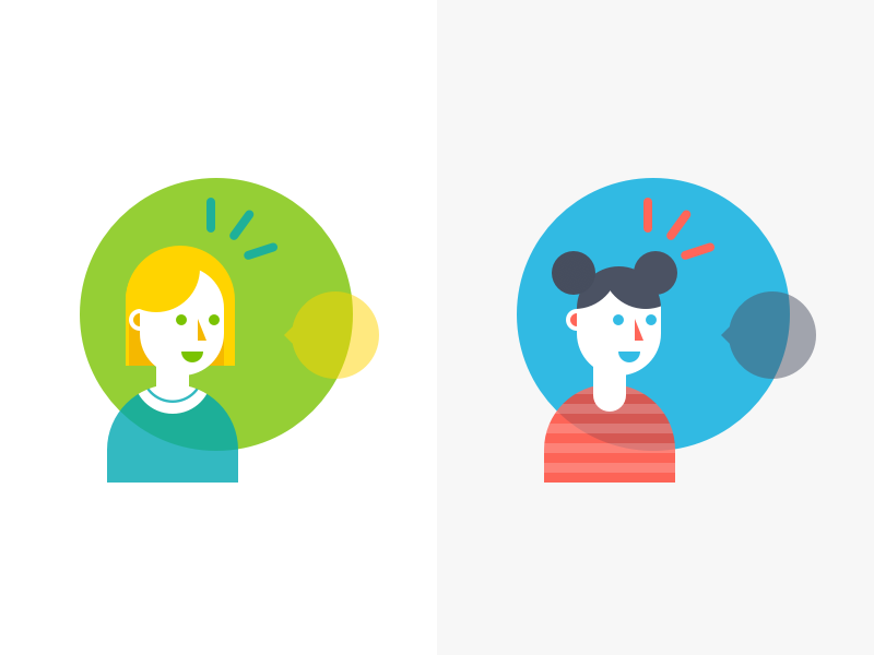Avatar Illustration vector user illustration home character avatar abstract