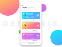 View tasks 3x