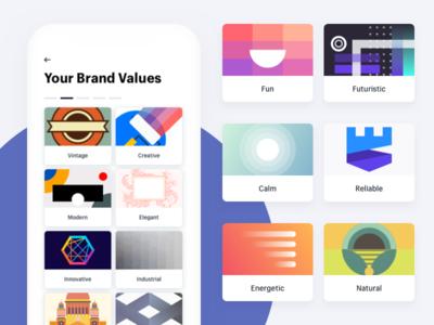 Brand Value Illustration Concept