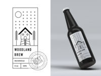 Minimal Beer Packaging Concept