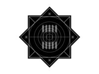 Crop Circle Badge Illustration