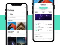 Travel App Concept - Rebound