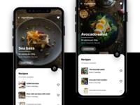 Conceptual Cooking Recipe App