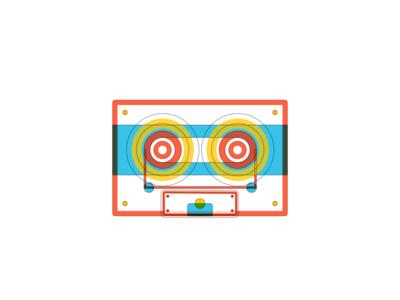 Tape Illustration Rebound