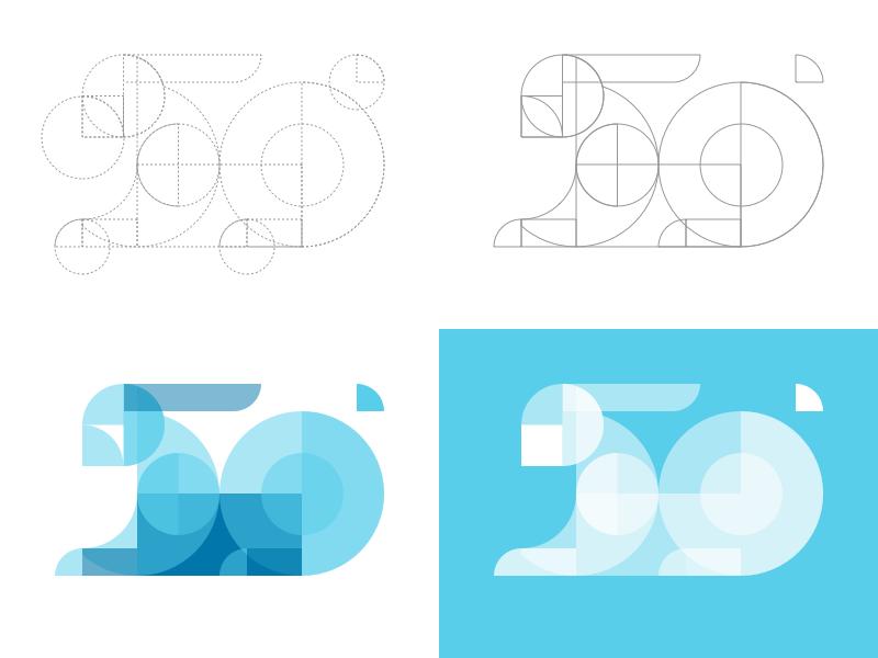 Geometric Rabbit Illustration Rebound minimal flat vector icon logo tutorial guide pet rabbit animal grid geometric