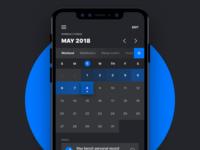 Calendar x Momentum Habit Forming Concept