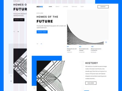 Modern Architecture Firm Website