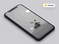 Minimal Monochrome Farm Phone Wallpaper