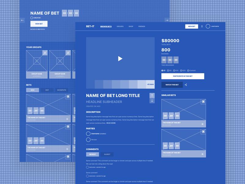 Wireframe Blueprint sketch frame wire wireflow wireframe feature enhance print blue blueprint attachment