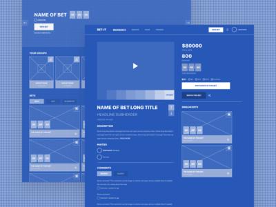 Wireframe Blueprint