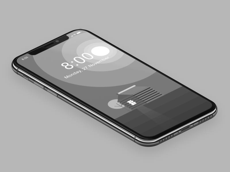 New Wallpaper minimal flat monochrome black white dark shadow wall paper wallpaper phone