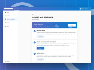 E-course Web Concept