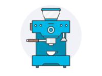 Coffee Maker Illustration