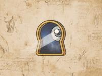 Orb Lock Logo Concept