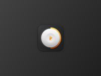 Skeuomorphic Video Icon