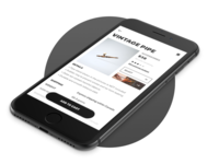 Mobile Product Detail Page