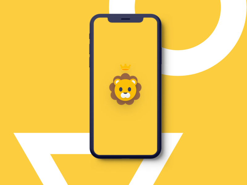 Chibi Lion Phone Wallpaper By Richard Yang On Dribbble
