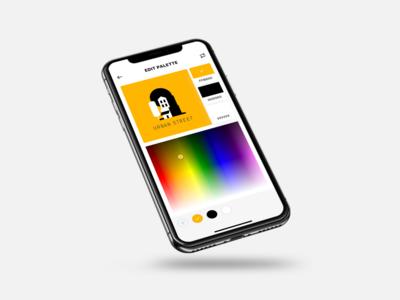 More Mobile Colour Picker Explorations