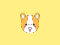 Cute Shiba Inu Illustration