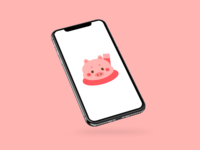 Chibi Pig Wallpaper
