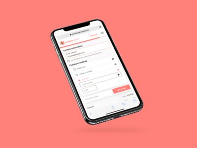 Mobile Web Checkout