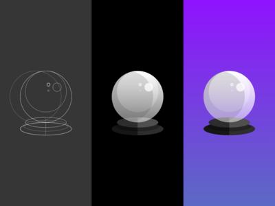 Icon Exploration - Magic Ball