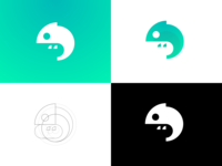 Chameleon Minimalist Logo