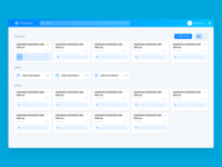 Audio Transcription Dashboard—Grid View (WIP)