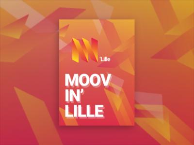 Moovin'Lille creative concept
