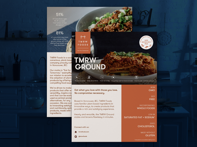 Food Product Info Sheet Design sell sheet design product sheet product info sheet product info sell sheet graphic design design