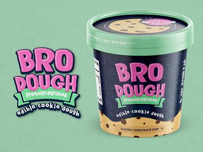Cookie Dough Food Packaging Design & Branding packaging package design branding mock up graphic design design