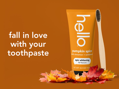 Fall Theme Pumpkin Toothpaste Packaging toothpaste design toothpaste packaing package design branding mock up graphic design design