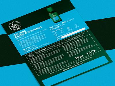 Cannabis CBD Oil Sell Sheet Design product sheet design product sheet info sheet sell sheet design sell sheet cbd design cannabis design mock up graphic design design