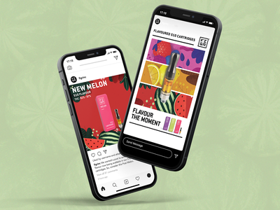 Cannabis Social Media Design cannabis social media cannabis design social media graphic design design