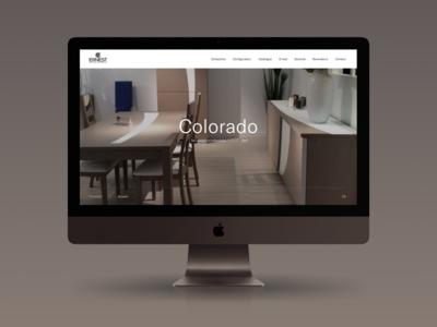 Ernest Ménard responsive interaction layout clean minimal interface ux ui design web